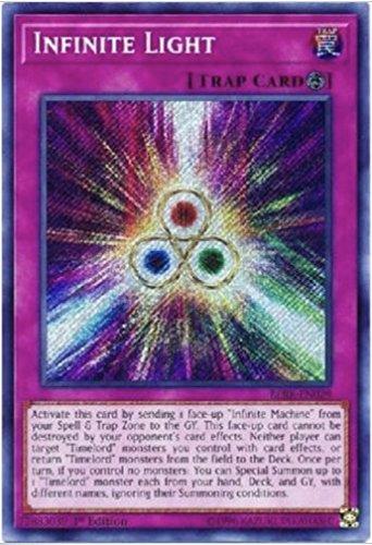 Yu-Gi-Oh! - 3x Infinite Light - BLRR-EN029 - Secret Rare - 1st Edition - Secret Rare - 1st Edition - Secret Rare - 1st Edition - NM/M