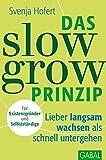 Das Slow-Grow-Prinzip: Lieber langsam wachsen als schnell untergehen (Dein Business)
