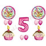 SHOPKINS 5th Fifth BIRTHDAY PARTY Balloons Decorations Supplies Cupcake Cookie