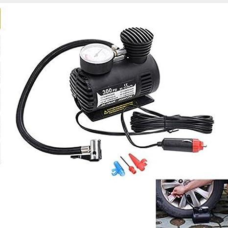 300PSI 12 V bomba de compresores de aire portatifs inflateur de neumáticos pistola de inflación de ...