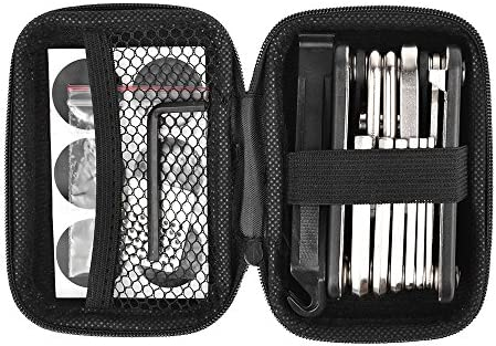 Bike Repair Set Bag Bicycle Multi Function 16 In 1 Tool Kit Hex Key Wrench