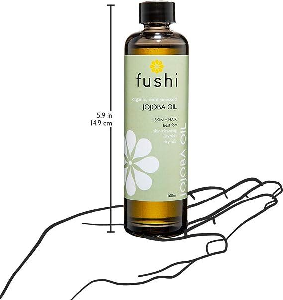 Amazon.com: fushi dorado orgánico de Jojoba 100 ml de aceite ...