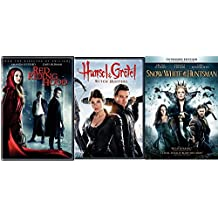 Snow White & The Huntsman + Red Riding Hood & Hansel & Gretel: Witch Hunters DVD Set Amazing Fairy Tale Action Double Feature