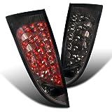 Spec-D Tuning LT-FOC005GLED-TM Ford Focus Hatchback 3/5Dr Smoke Tint LED Tail Brake Lights Pair