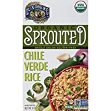 Lundberg Family Farms Organic Sprouted Rice, Chile Verde, 6 Ounce (Pack of 6)