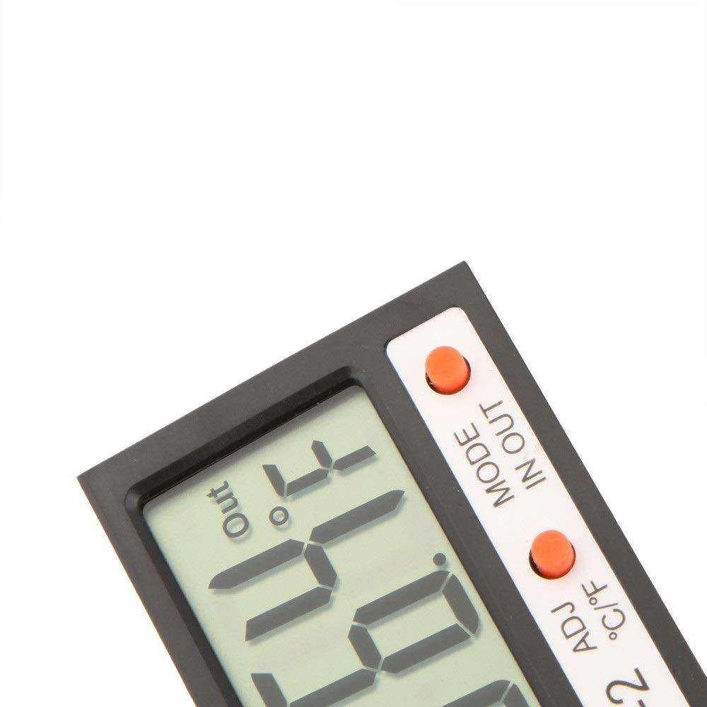 Thermom/ètre num/érique LCD ext/érieur//ext/érieur pour mini-thermom/ètre num/érique//Pr avec sonde