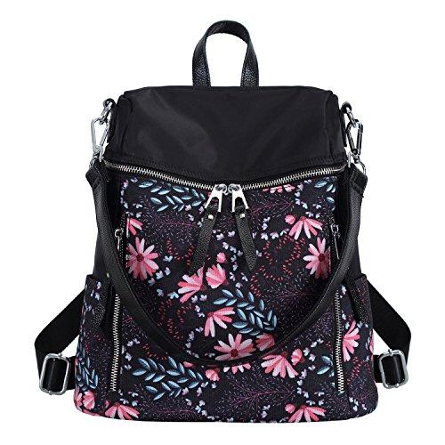 59f7b272cf7c Galleon - Women Backpack Purse Fashion Convertible Ladies Rucksack Travel School  Shoulder Bag Casual Daypack (Floral)