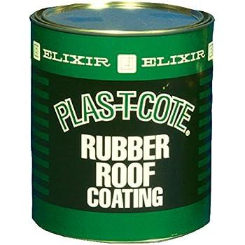 Nice DEHCO 46032 White Rubber Roof Coat   1 Quart