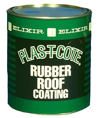 DEHCO 46032 White Rubber Roof Coat - 1 Quart
