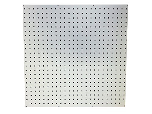 White Poly Pegboard (24x24 in.) by Peg USA by Peg USA