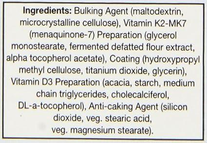 Health Aid, Vitamin K Complex +Vit D3, tabletas 30s: Amazon ...