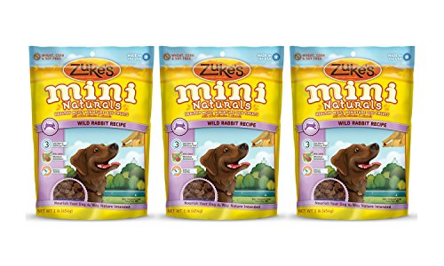 Zukes Naturals Treats Rabbit Pounds product image