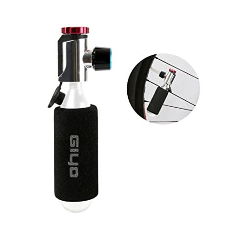Oshide Inflador de CO2, bomba de neumáticos para bicicleta de carretera y montaña, compatible