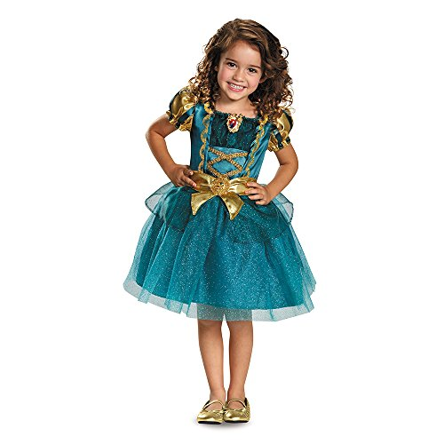 Merida Toddler Classic Costume, Large (4-6x) - Merida Costumes For Girls