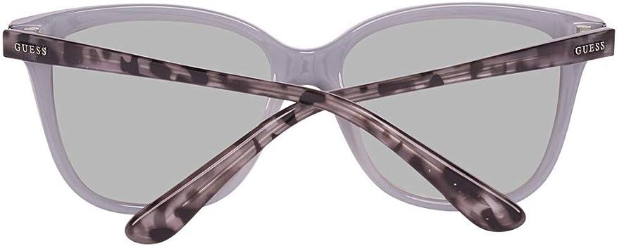 Amazon.com: Guess GU7551 01C - Gafas de sol cuadradas ...