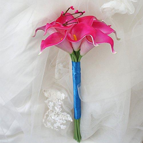 Calla Pink Long Stem Lilies (Lily Garden Mini 15