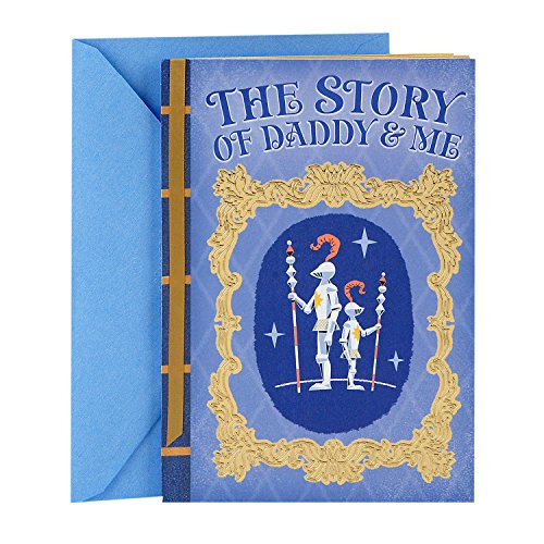 Hallmark Father's Day Card From Son (Prince and King Fairytale Story) -
