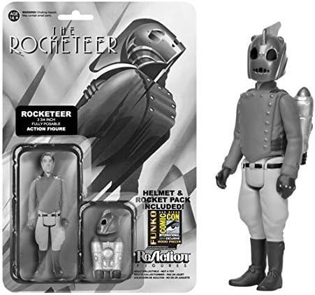 Funko - Figurine Disney - Rocketeer Black & White Exclu ReAction 10cm - 0849803043711: Amazon.es: Juguetes y juegos