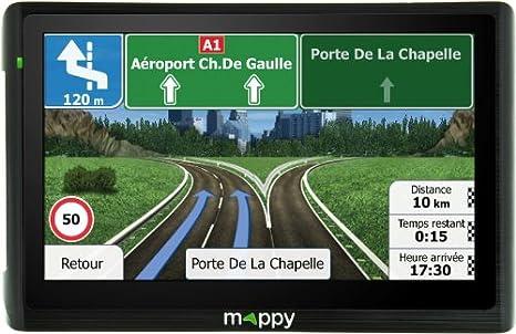 Navigation GPS MAPPY ULTI E518 NOIR EUROPE 14 PAYS CARTE A VIE