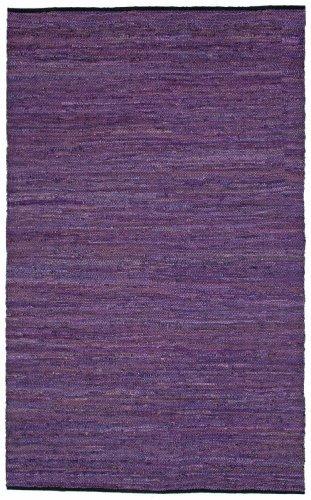 Purple Leather Matador 30″x50″ Rug! For Sale