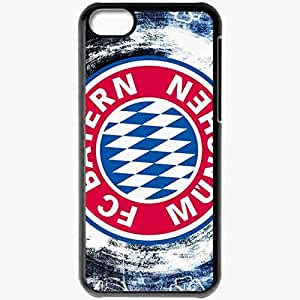 Personalized iPhone 5C Cell phone Case/Cover Skin 2013 new bayern munchen Black by lolosakes
