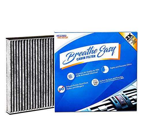 Installer Champ Premium Breathe Easy Cabin Filter, Up to 25% Longer Life w/Activated Carbon (BE-285)