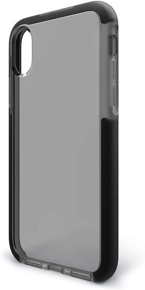BodyGuardz - Ace Pro Case for iPhone Xr, Extreme Impact and Scratch Protection (Smoke/Black)