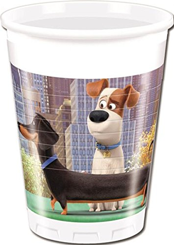 Procos The Secret Life of Pets Plastic Party Cups (8 Pack)