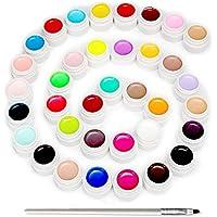 Skymore Set di 36pz Smalto per Unghie, Gel Unghie UV LED, Kit Smalto Semipermanente in Gel Soakoff