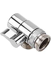 Wasserhahn-Umlenkventil, Umschaltventil/Absperrventil für Küchenspüle oder Badezimmerwaschbecken zum Umschalten auf Brause, Messing