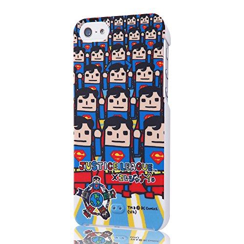 Superhero Characters Hard iPhone 5 Case (League/Superman)