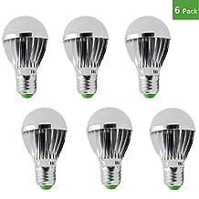 RioRand LED Light Bulb E27 5w 12v Energy Saving High Power Bright White (6 PCS)