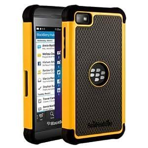 Quaroth HHI Aero Armor Case for BlackBerry Z10 - Yellow