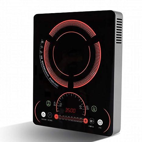 CN Cocina de inducción de Alta Potencia hogar Toque Comercial batería Estufa Nobles salteado,Rojo