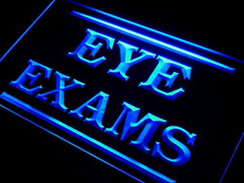 Eyes Exams Optical Shop LED Sign Neon Light Sign Display - Shop Exam