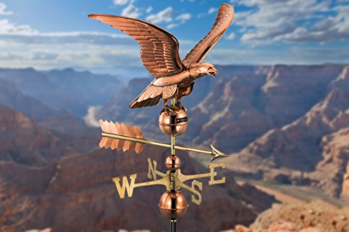 Good Directions Smithsonian Eagle Weathervane, Pure Copper by Good Directions (Image #4)