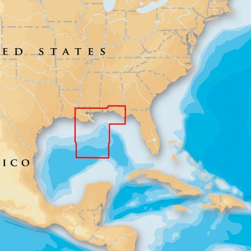 Navionics Platinum Plus Gulf of Mexico Central on CF