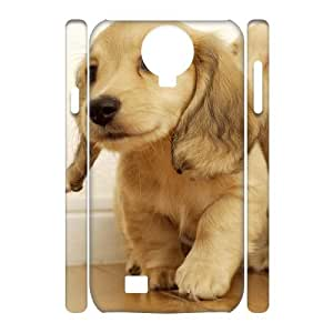 Hotsale Case for SamSung Galaxy S4 I9500 3D - Staying adorable sled dogs ( WKK-R-528218 )