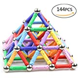 Raresite Magnetic Blocks, Magnetic Building Set, Magnetic Tiles, Educational Toys Kits for Kids Over 4 Years Old