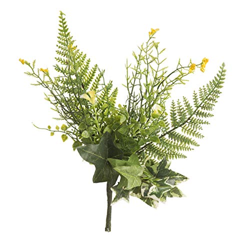Darice Mixed Fern Green/Yellow, 3.5 x 12 inches Floral ()