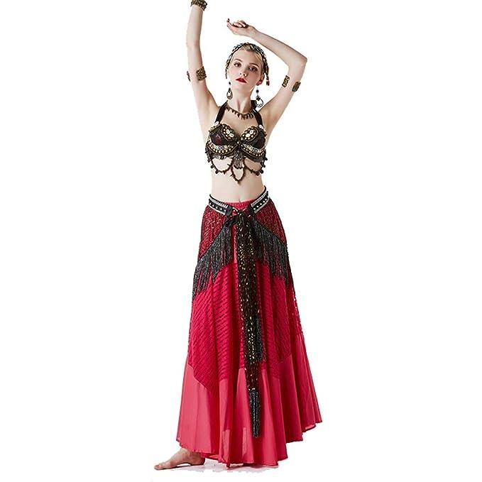 Wanlianer-Clothing Falda de Danza del Vientre Disfraz de ...