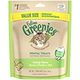 FELINE GREENIES Dental Cat Treats Catnip Flavor 5.5 oz.