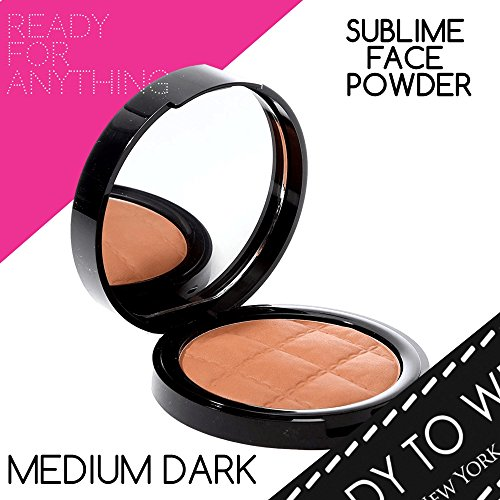 (Ready To Wear Sublime Powder Face Protecting Powder Made In Italy (MEDIUM DARK))