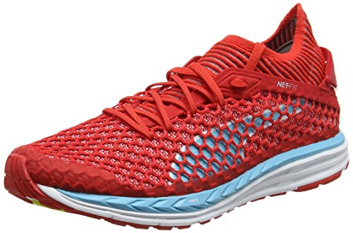 Netfit Fitnessschuhe Turquoise Damen white Outdoor Speed Poppy Ignite Puma Red nrgy Rot ZgtxFwnZSX
