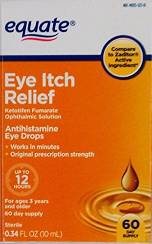 Equate Eye Itch Relief 60-Day Supply Compare to Zaditor (1)