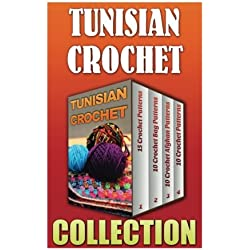 Tunisian Crochet: Bag + 10 Afghan Patterns