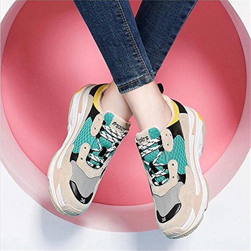 Fall Sneakers B New Shoes Ladies Street Harajuku Shoes Retro Travel Womens's Beat Style Casual Winter Exing New OHxBT4qwn