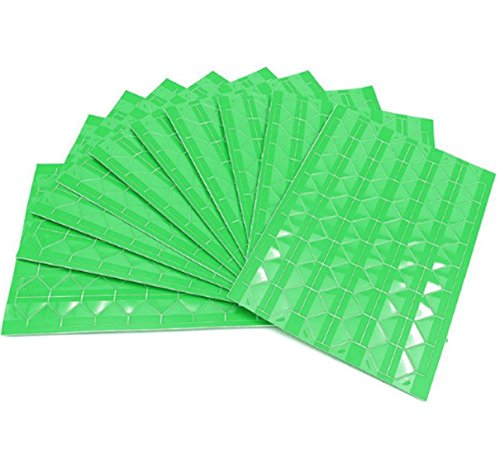 10Pcs Green Color Photo Mounting Sticker Paper Kraft Paper Corner Stickers Photo Corners Self Adhesive for Wedding Party DIY Scrapbooking Album Dairy,Total 1020 Corners by pankdream