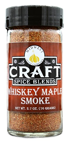 Whiskey Maple Smoke - All Purpose Rub / Seasoning - Craft Spice Blends - Smokehouse Specialty Rub - Dry Rub for Smoking Meat - Jerky Seasoning (Meat Seasoning Blend)