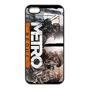 games Metro Redux Game Poster iPhone 4 4s Cell Phone Case Black 91INA91462336